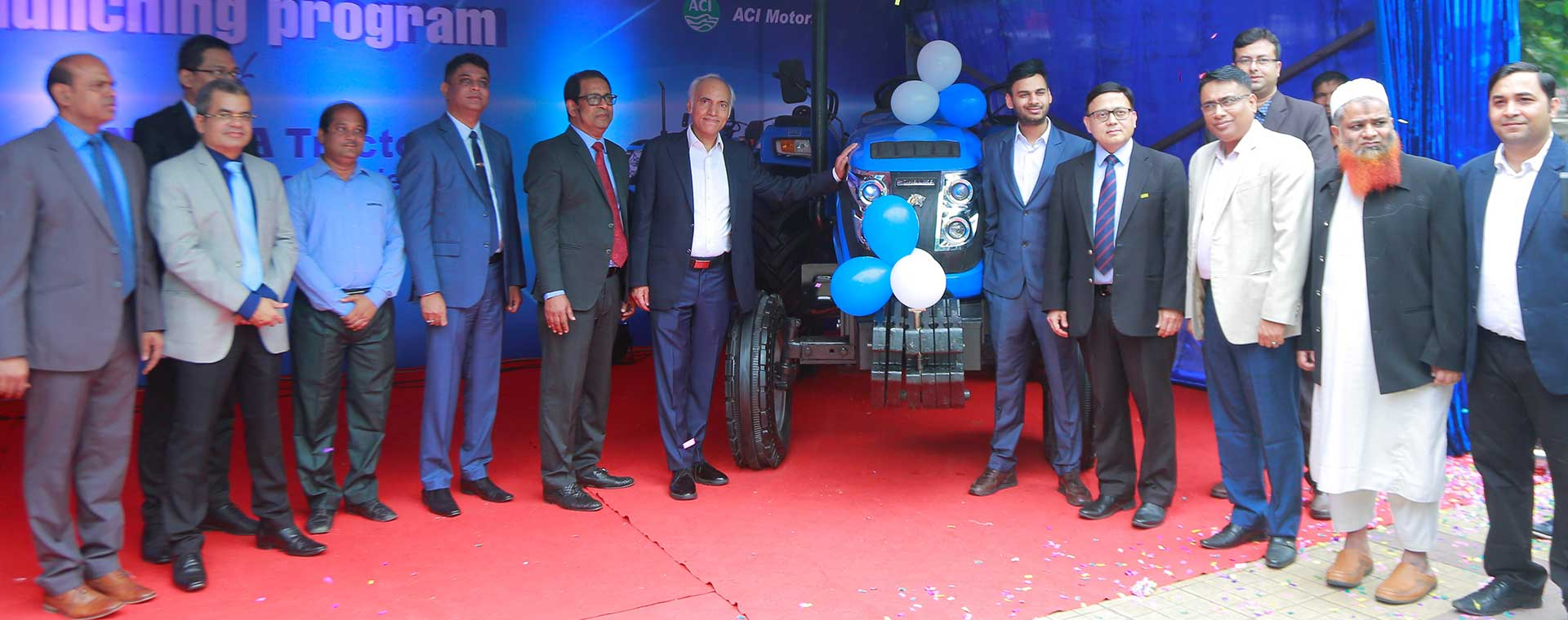 ACI Motors launched 2 new series of Sonalika Tractor