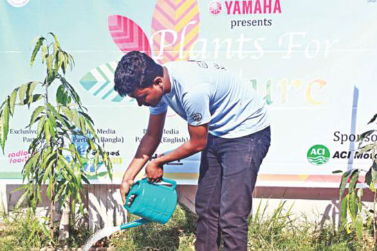 "Yamaha Presents ""Plants for Future"""