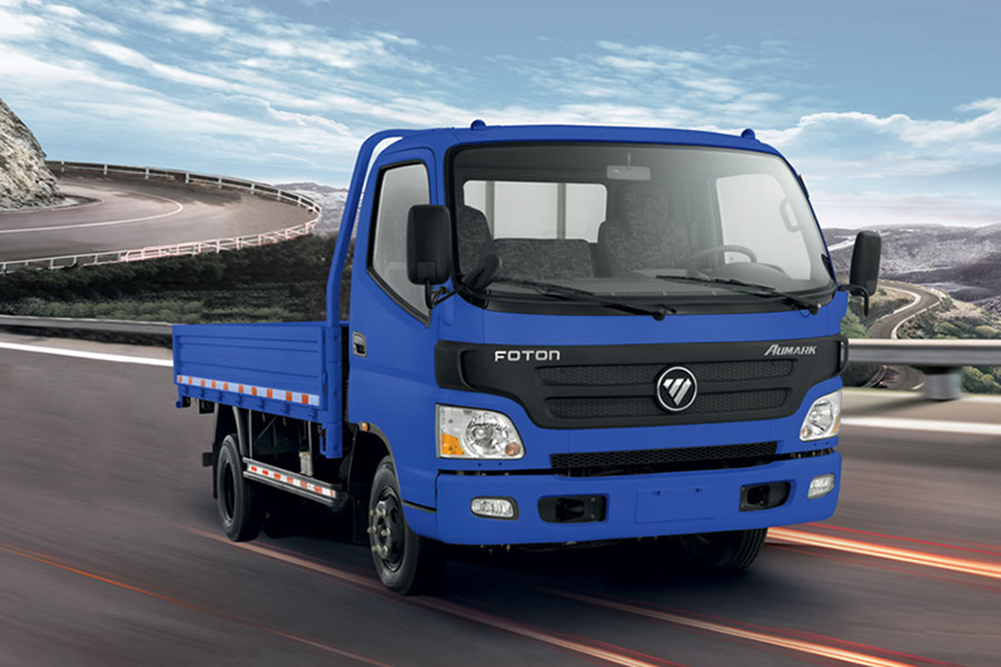 "Became Distributor of ""FOTON Motor"""